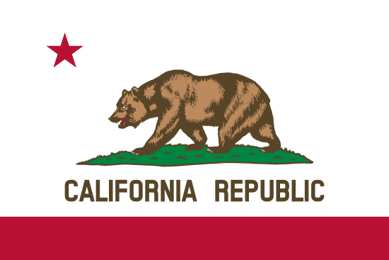 California - state flag