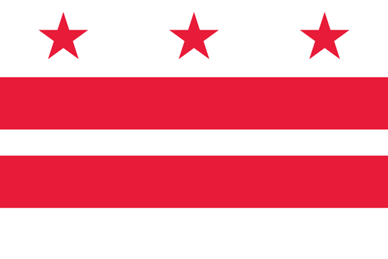 Washington D.C. - state flag