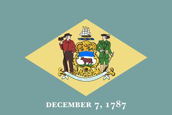 Delaware - state flag