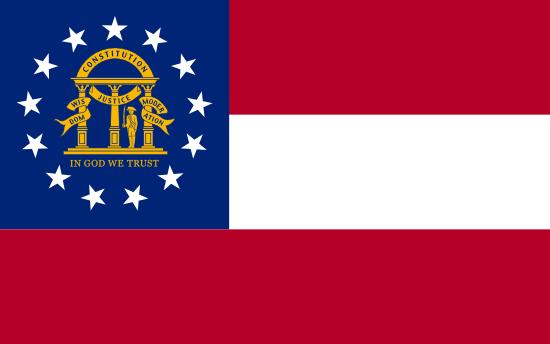 Georgia - state flag
