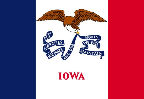 Iowa - state flag