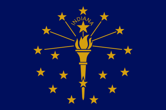 Indiana - state flag