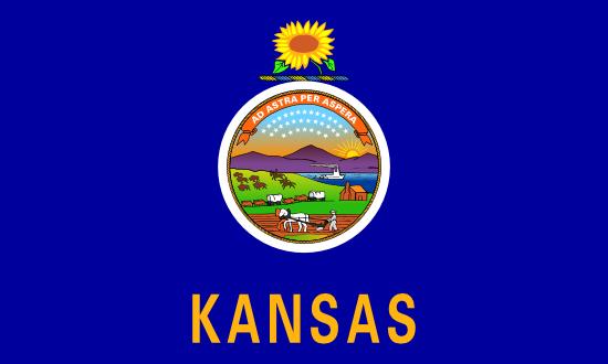 Kansas - state flag