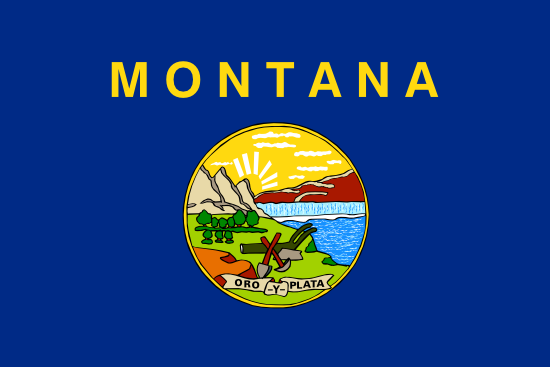 Montana - state flag