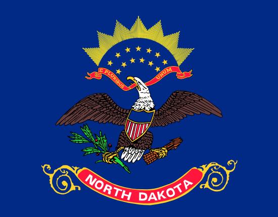 North Dakota - state flag