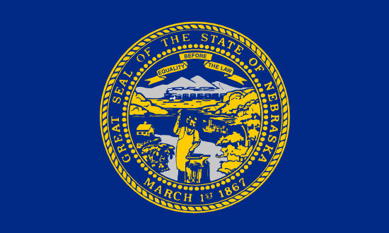 Nebraska - state flag