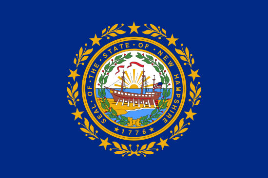 New Hampshire - state flag
