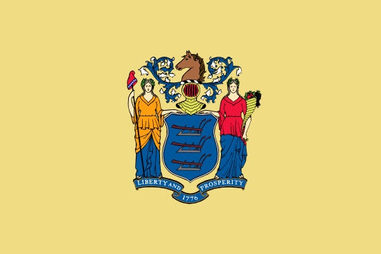 New Jersey - state flag