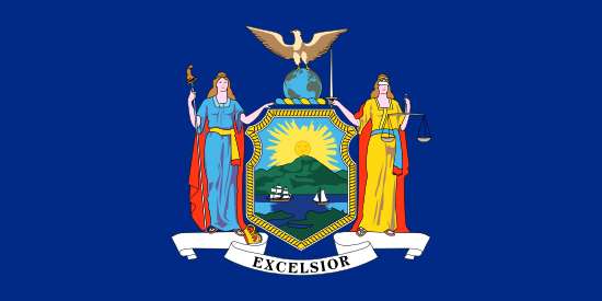 New York - state flag