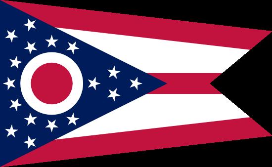 Ohio - state flag