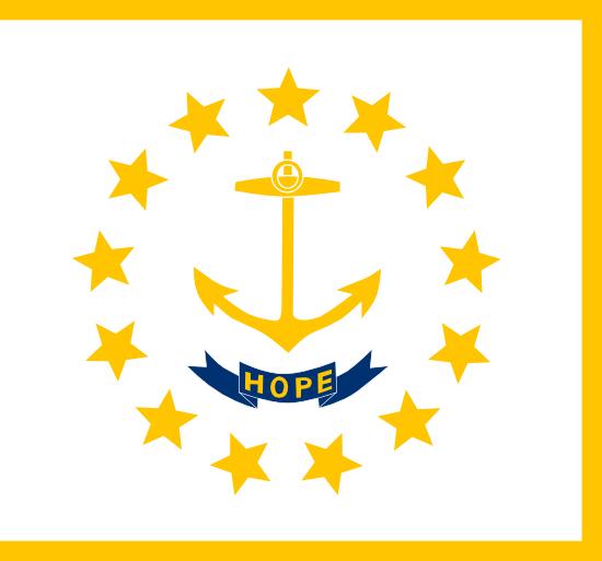 Rhode Island - state flag
