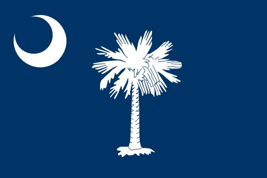 South Carolina - state flag