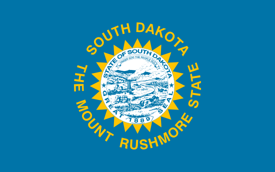 South Dakota - state flag