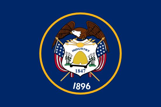 Utah - state flag