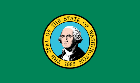 Washington - state flag
