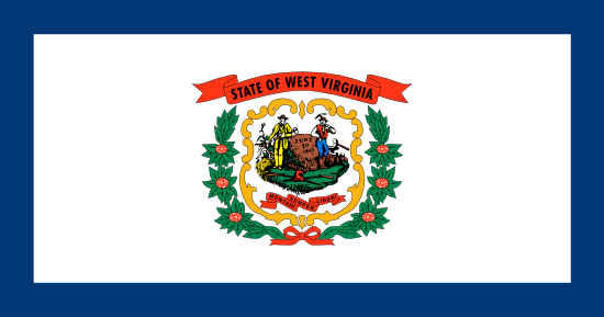 West Virginia - state flag
