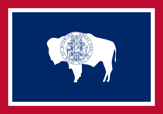 Wyoming - state flag